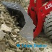 Heavy Duty Felsschaufel für Braeker-Lock Schnellwechsler | Heavy Duty Rock Bucket for Braeker-Lock quick coupler