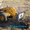RC-Welt.eu / RC4WD Radlader JD88 Earth-Mover 870K mit Braeker-Lock Schnellwechsler |Quick coupler for RC wheel loader