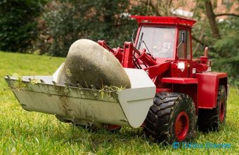 Kundenmodell Radlader O&K L25 | Customer model RC wheel loader