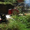 Feuer im Braeker Modell Steinbruch | Fire at RC quarry